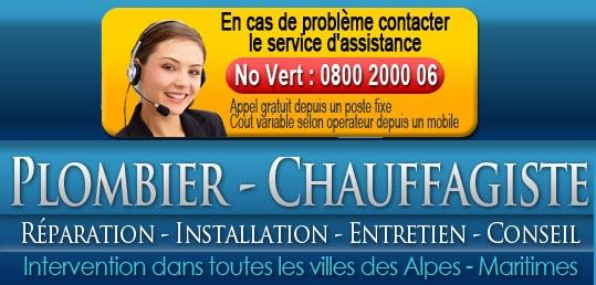dépannage plombier La Colle-sur-Loup