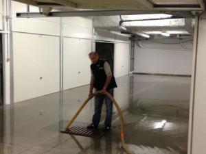 aspirer eau dans les sous sol immeuble de cannes
