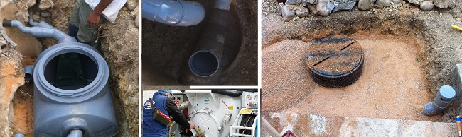 entreprise d'installation fosse septique